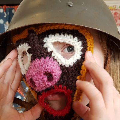 Virka en mask