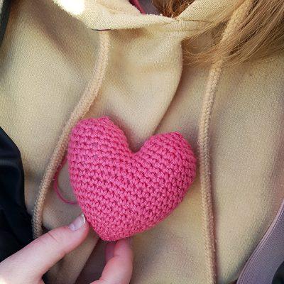 Virka ett hjärta